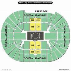 Schottenstein Center Concert Seating Chart Value City Arena Schottenstein Center Seating Chart