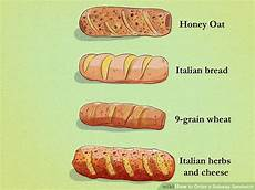 Subway Ingredients Chart How To Order A Subway Sandwich 12 Steps With Pictures