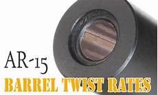 Ar 15 Barrel Twist Chart Ar 15 Barrel Twist Rates What You Need To Know
