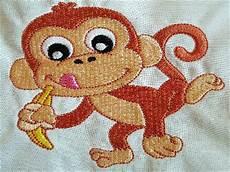 Monkey Design Machine Embroidery Designs Happy Monkeys Set