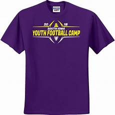 Football T Shirt Designs Football Camp Teamwear T Shirts