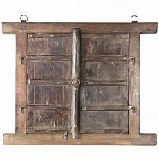 rustic salvaged shuttered window frame chairish