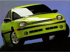 1995 Dodge Neon Highline Std Is Estimated Coupe Ratings