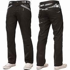 Mens Fit Designer Jeans Uk New Enzo Designer Mens Straight Leg Jeans Regular Fit