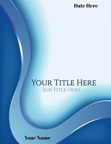 Editable Cover Page Free Cover Page Maker Create Online In Under 1 Minute