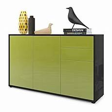 vladon cabinet chest of drawers ben v3 carcass in black