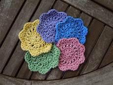 easy coasters free crochet pattern