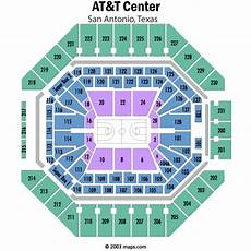 Spurs Seating Chart At Amp T Center Seating Chart Views And Reviews San Antonio