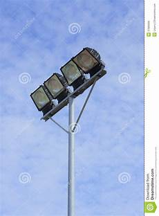 Small Stadium Lights Small Stadium Lights Stock Image Image Of Array City