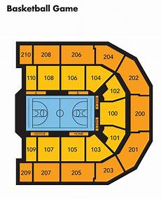 Umbc Fieldhouse Seating Chart Umbc Event Center Seating Charts