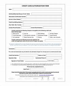 Blank 3rd Party Authorization Form Free 8 Sample Credit Card Authorization Forms In Ms Word