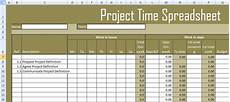 Project Spreadsheet Template Get Project Time Spreadsheet Template Excel Excel