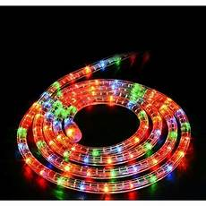 Outdoor Multi Coloured Rope Lights Chasing Rope Light With Multi Coloured Leds 10m Buy