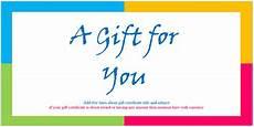 Ms Word Gift Certificate Template Custom Gift Certificate Templates For Microsoft Word