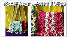 easy diy tutorial of macrame purse for design 2