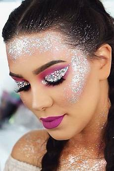 glitter makeup 30 looks that are as shiny as it sounds