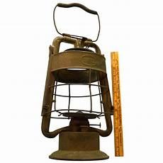 cing lanterne antique dietz king dept lantern no globe all brass