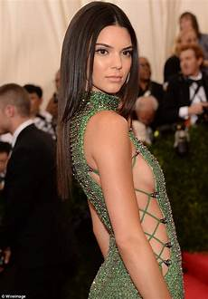 kendall jenner dons revealing dress at met gala as new