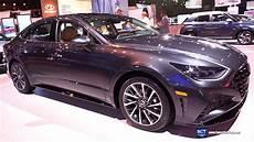 new york auto show 2020 hyundai 2020 hyundai sonata exterior interior walkaround debut