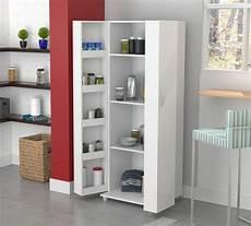 kitchen cabinet storage white food pantry shelf