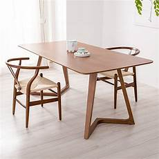Scandinavian Designs Coupon 100 Pure Solid Wood Dining Tables And Chairs Walnut Color