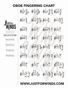 Oboe Chart Print Free Charts For Saxophone Clarinet Flute