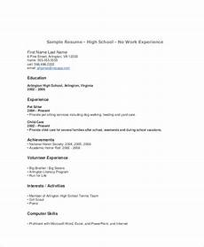 Resume Format For Teenagers Free 5 Sample Teenage Resume Templates In Ms Word Pdf