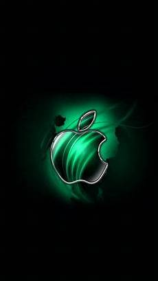 green apple logo iphone wallpaper swirly apple blue 640 x 1136 wallpapers 4600943