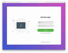 Free Login Template Html 41 Best Free Login Forms For Websites And Mobile