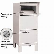 Business Mailbox Locking Mailboxes Secure Courier Parcel Mailbox For