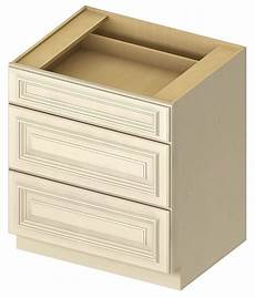 cw 3db18 3 drawer base 18 inch cambridge antique