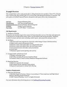 Examples Of Freelance Jobs Sample Job Analysis