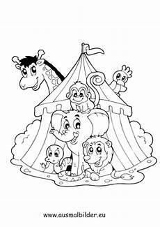 Malvorlagen Zum Ausdrucken Zirkus Ausmalbilder Zirkus Ausmalbilder