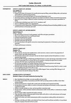 Sample Of Office Assistant Resume Office Assistant Job Description Resume Beautiful 10