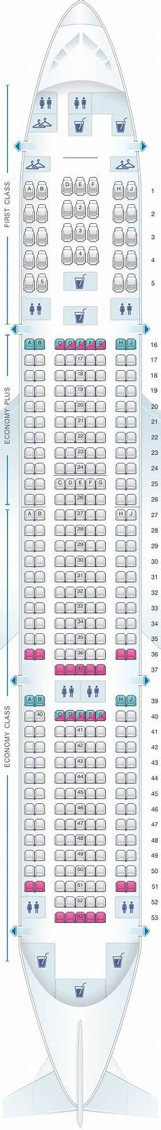 United Airlines Seating Chart 777 International Boeing 777 200 Seat Map United Airlines Wallseat Co