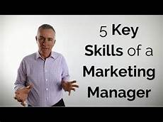 What Is A Sales Executive 5 Key Skills Of A Marketing Manager Youtube