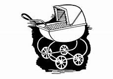 malvorlage kinderwagen kostenlose ausmalbilder zum