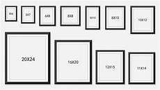 All Photo Size Chart Picture Frame Size Guide Memory Box