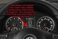 Volkswagen Temperature Warning Light Vw Outside Temperature Gauge New Century Volkswagen