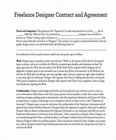 Graphic Design Freelance Contract Template 17 Freelance Contract Templates In Google Docs Ms Word