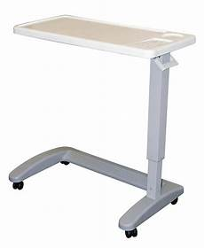 overbed table adjustable mobility chair hospital