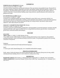 Essay On Curriculum A Written Curriculum Vitae