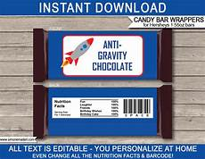 Hershey Candy Bar Wrappers Space Hershey Candy Bar Wrappers Personalized Chocolate Bars