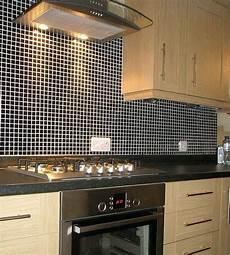 wall tile for kitchen backsplash wholesale porcelain tile mosaic black square surface
