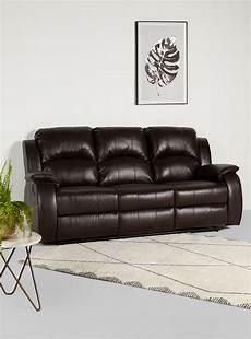Sofa Reclinables En Oferta 3d Image by Sof 225 Reclinable Poliuretano 3 Cuerpos Attimo