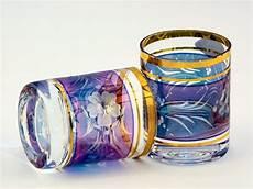 bicchieri di boemia photo praga bicchieri di cristallo di boemia in prague