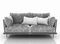 Small Grey Sofa 3d Image by Gray Sofa 3d Model For Free