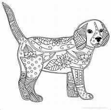 Malvorlage Hund Mandala Hund Erwachsene Antistress Oder Kinder Malvorlagen Free