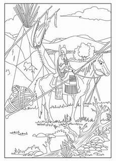 Ausmalbilder Indianer Pdf Ausmalbilder F 252 R Erwachsene Indianer Zum Ausdrucken