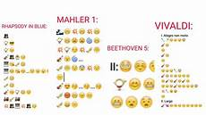 Emoji Masterpieces Some Genius Notated These Classical Masterpieces Using